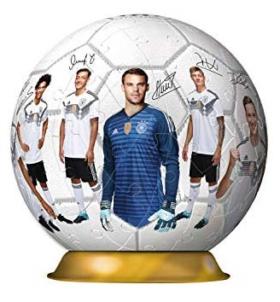3D Fußball-Puzzle