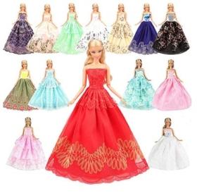 Abendkleider für Barbies
