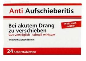 Anti Aufschiberitis Schokolinsen
