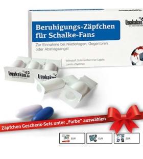 Beruhigungs-Zäpfchen für Schalke Fans