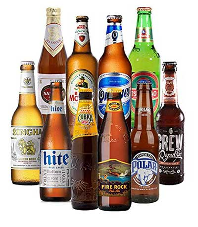 Biere aus aller Welt Geschenkset