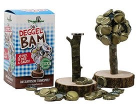 Bierspiel Magnet-Kronkorkenbaum