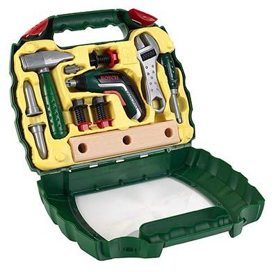 Bosch Kinder-Werkzeugkoffer mit Akkuschrauber