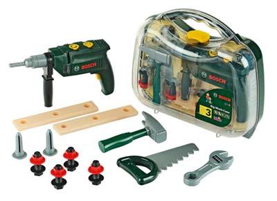 Bosch Kinder-Werkzeugkoffer mit Bohrmaschine