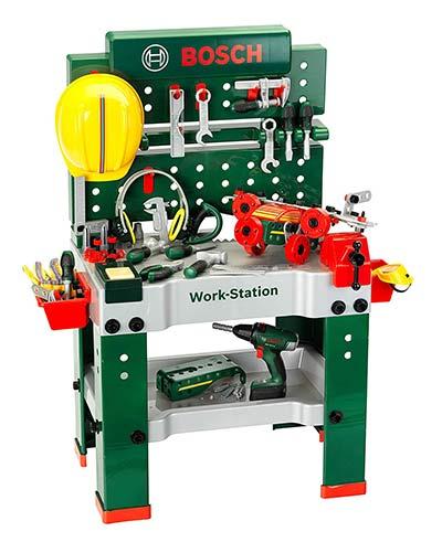 Bosch Kinder-Werkbank mit Akkuschrauber