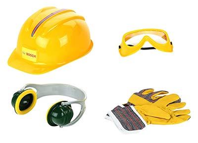 Bosch Spielzeug Schutzausrüstung
