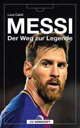 """Buch """"Messie - Der Weg zur Legende"""""""