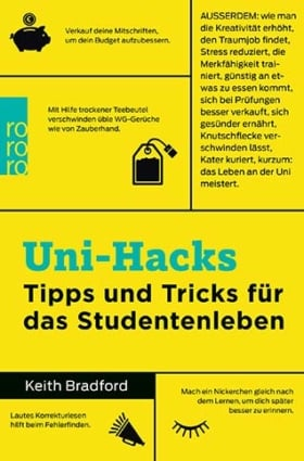 Buch mit Tipps und Tricks für Studenten