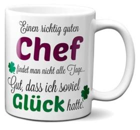 Dankeschön Chef Tasse