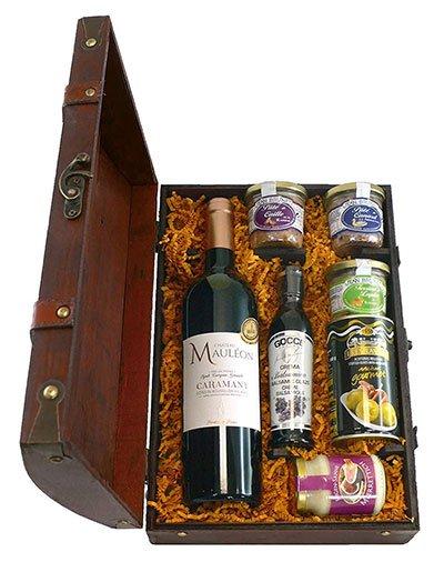 Exklusive Geschenke Schlemmerbox Holzkiste