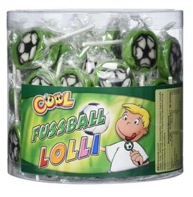 Handgemachte Fußball Lollies