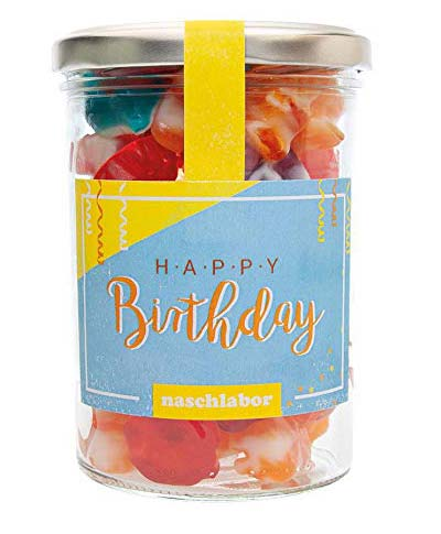 Geburtstags-Fruchtgummi