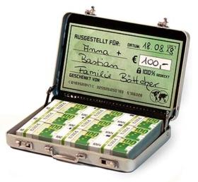 Geldgeschenke Geldkoffer