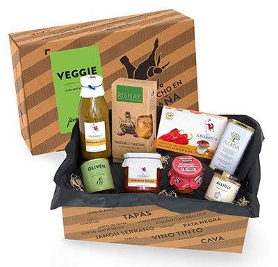 Geschenkbox vegetarische Tapas