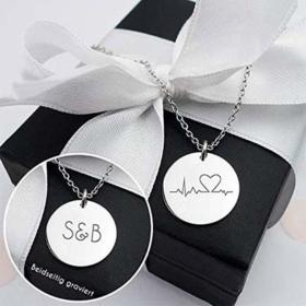 Geschenke für die Schweseter Herzschlag-Kette
