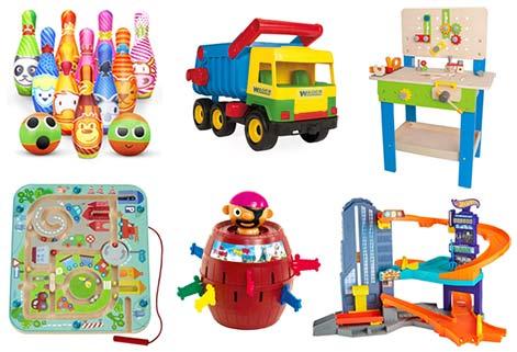Schöne Geschenke für 3-jährige Jungs zum Geburtstag und zu Weihnachten