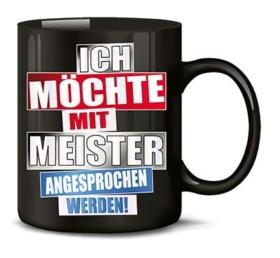 Geschenke für Handwerker Meister-Tasse