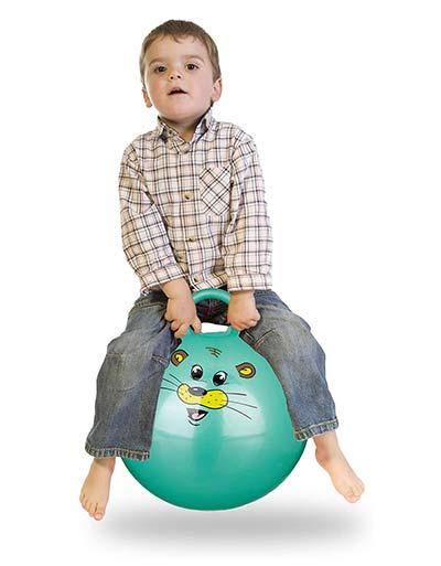 Hüpfball für 3-jährige Kinder