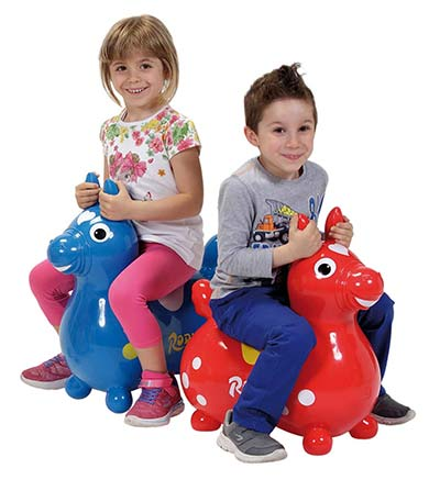 Spielzeug für draußen: Pferd-Hüpftier