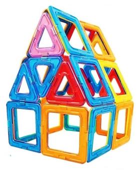 Geschenke für Kinder Magnetische Bausteine