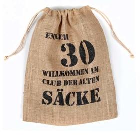 Alter Sack 30 Jahre Geschenkverpackung