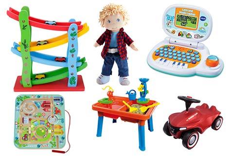 Schöne Geschenke für 2-jährige Jungs zum Geburtstag und zu Weihnachten