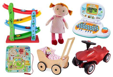 Geschenke für zweijährige Kinder