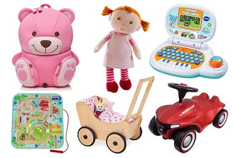 Schöne Geschenke für 2-jährige Mädchen zum Geburtstag und zu Weihnachten