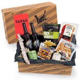 Tapas Geschenkbox mit spanischen Delikatessen