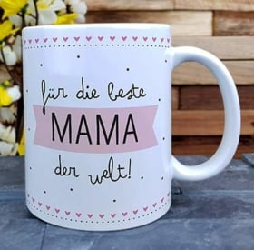 Geschenke zum Muttertag Tasse für Mama