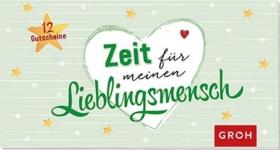 """Gutscheinbuch """"Zeit für meinen Lieblingsmensch"""""""