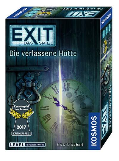 Gesellschaftsspiel Exit Die verlassene Hütte