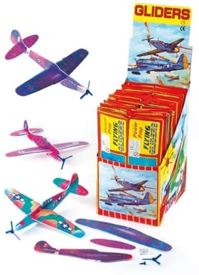 Gleitflugzeuge mit Propeller