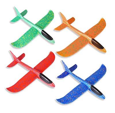 Gartenspielzeug für dreijährige Kinder Gleiflugzeuge aus Styropor