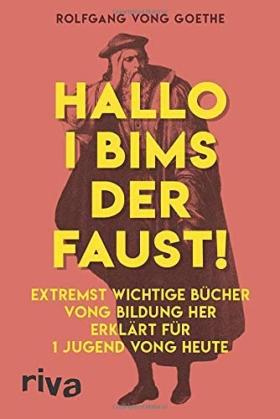 Witzige Ausgabe von Goethes Faust