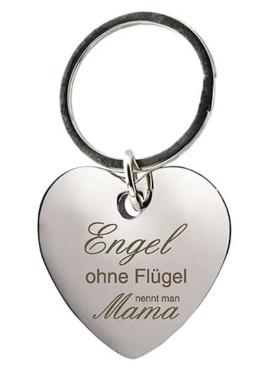Herz Schlüsselanhänger für Mama
