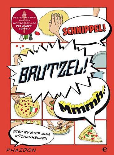 Italienisches Kochbuch in Comic-Form
