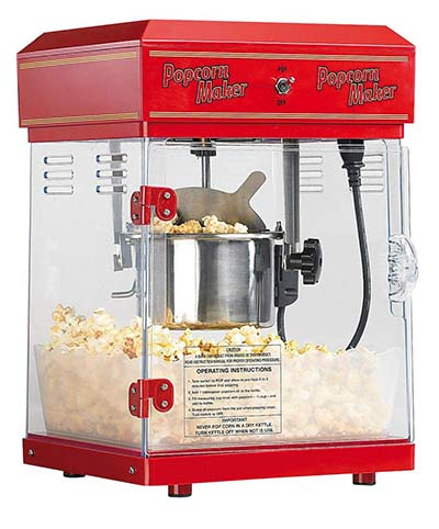 Popcornmaschine im Retro-Look