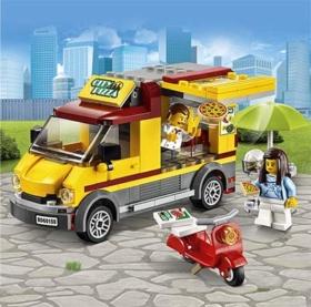 Lego-Pizzawagen