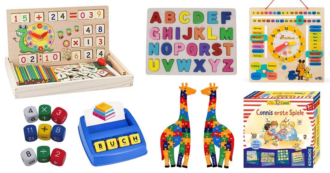 Lernspielzeug für Kinder ab 4 Jahren