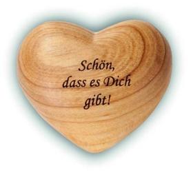 Liebesgeschenke Holzherz