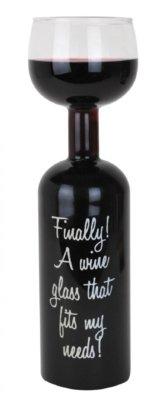 lustige Geschenke Frauen Weinglas