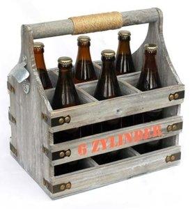 Bierträger mit Flaschenöffner