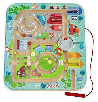 Magnetspiel Stadt-Labyrinth