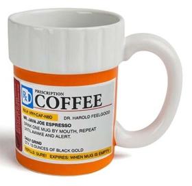 Medizinbecher Coffee