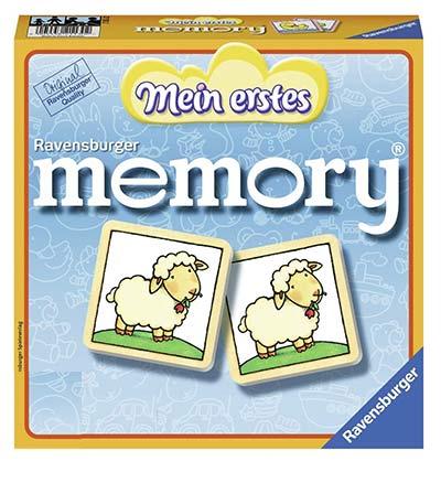 Mein erstes Memory - Gedächtnistraining für Kinder ab 3 Jahren