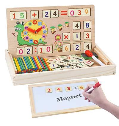 Montessori Mathe Lernbox: Lernspielzeug ab 4 Jahren