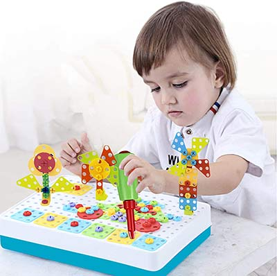 Mosaik Steckspiel für Kinder ab 3 Jahren