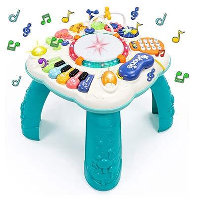 Musikspieltisch mit Liedern und Lichtern
