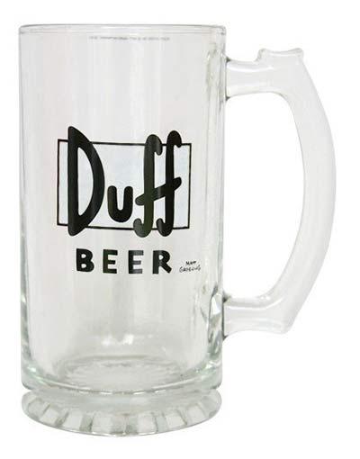 Nerd Geschenke Duff Beer Glas